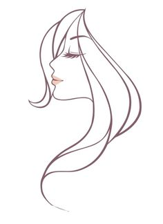 Free Beautiful Woman Head Vector Illustration - TitanUI