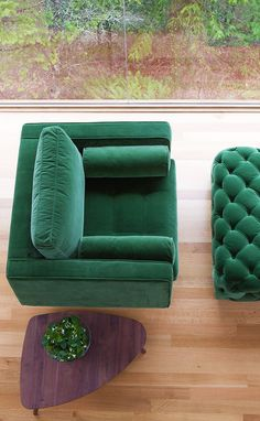 SVEN 'Grass Green' armchair