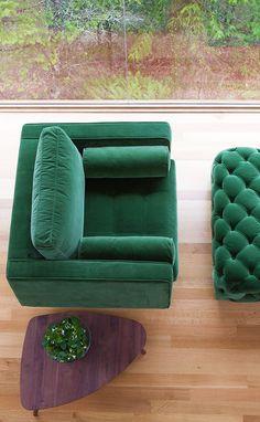 SVEN 'Grass Green' armchair