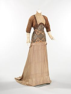 Evening Dress Made By Weeks - French c.1910 - The Metropolitan Museum Of Art