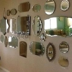 Dumbfounding Useful Tips: Wall Mirror Awesome wall mirror interior couch.Wall Mirror Entry Ways silver wall mirror vanities. Wall Mirror With Shelf, Mirror Gallery Wall, White Wall Mirrors, Lighted Wall Mirror, Rustic Wall Mirrors, Round Wall Mirror, Mirror Collage, Decorative Mirrors, Vintage Mirrors