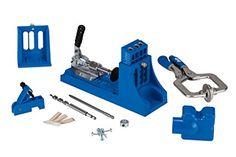 Kreg MKJKIT Mini Kreg Jig Kit - Pocket Hole Jigs - Amazon.com