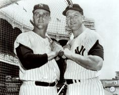 Mickey mantle and roger maris!