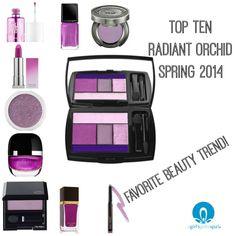 Top Ten Radiant Orchid #Spring2014 #RadiantOrchid