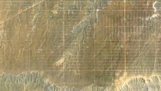 "8/24/2014 Network of dirt roads Albuquerque, New Mexico, USA  35°15'8.37""N, 106°50'16.51""W   Grids of dirt roads mimic the landscape outside of Albuquerque, New Mexico, USA."