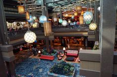 So ... what do you think of the new lobby (sans fountain) at Disney World's Polynesian Village Resort?