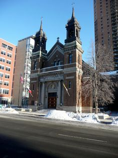 St. Louis King of France Catholic Church: St. Paul, Minnesota :: Emmanuel Louis Masqueray