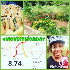 How did you spend your #MoveItMonday?  I took and easy #cycle #ride which felt amazing! It was good to be back on my #bike.  I tried something sushi with salmon.  That was new and I found a pretty little garden I'd like to replicate.  #fitness #weightloss #fitmom #activelife #bikelife #cycling #sushi #sustainableexercise #lowimpactexercise #wecandothis #letsdoittogether Join #teamMirrorWatching! Link in profile. #wegotthis