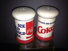 Coca Cola Vintage salt & pepper shakers