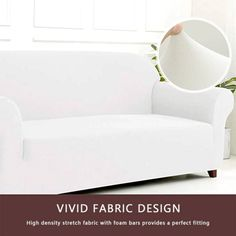 Sofa Cover for Living Room Elasticity Non-slip Couch Slipcover Universal Spandex Case for Stretch Sofa Cover Seater Clean Couch, Old Sofa, Cama Box, Sofa Protector, Couch Covers, Dust Mites, At Home Store, New Furniture, Sectional Sofa