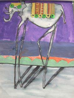ChumleyScobey Art Room: elephant