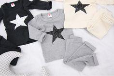 新作ブブオルブセレクト-スター上下セットアップ/3カラー- 韓国子供服 BUBUOLUBU ブブオルブ