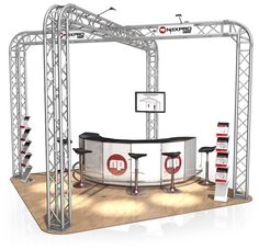exhibition stand truss - Google Search