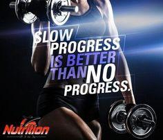 Slow #progress is better than no progress! #MondayMotivation http://fb.me/5edAgrn4H