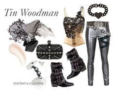 Classic Stories Collection #3 Tin Woodman - The Wonderful Wizard of Oz by starberry-cupcake on Polyvore featuring polyvore fashion style IDRISS GUELAI ATELIER Lottie & Holly Fame on You Jeffrey Campbell Alexander McQueen Vivienne Westwood Juicy Couture Justin Elegantly Waisted Black & Brown London Urban Decay Stila By Terry vintage women's clothing women's fashion women female woman misses juniors