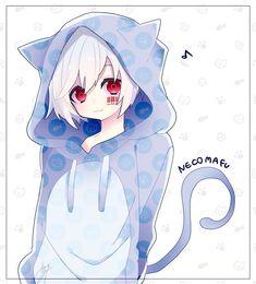 Moe Anime, Anime Neko, Kawaii Anime, Manga Anime, Neko Boy, Chibi Boy, Cute Chibi, Boy Cat, Cute Anime Boy