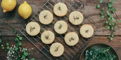 Shortbread cookies - Coconut oil shortbread with lemon & rosemary. Picture / Eleanor Ozich.