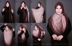 Turban Tutorial, Hijab Tutorial, Modest Fashion, Hijab Fashion, Fashion Beauty, Women's Fashion, Simple Hijab, Dressing Sense, Beautiful Hijab