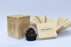 Cupcake Gift Packaging on Behance