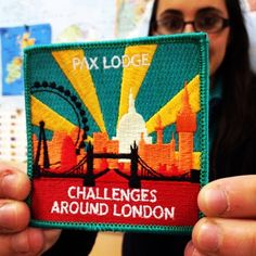Challenges Around London WAGGGS patch - I HAVE TO DO THIS! Go to Pax Lodge to start the adventure.