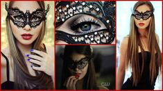 Hope you guys like this Katherine Pierce/Nina Dobrev Masquerade Ball Makeup Tutorial from The Vampire Diaries :) Exact Mask and other beautiful masks here: B. Masquerade Makeup, Masquerade Dresses, Halloween Masquerade, Masquerade Party, Ball Hairstyles, Braided Hairstyles Updo, Holiday Hairstyles, Elegant Hairstyles, Ball Make-up