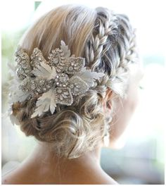 Gorgeous Wedding Hairstyles With Accessories