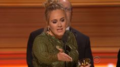 The 59th Annual Grammy Awards: TV Review  Adele and Beyonce provide the highlights in an evening marked by performer mash-ups political commentary and memorial tributes.  read more