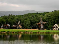 muzeu-sibiu-astra-64 Eastern Europe, Romania, Golf Courses, Clouds, Sky, Landscape, House Styles, Building, Nature