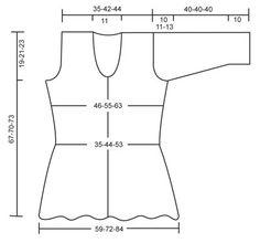 """Vartalonmyötäinen DROPS pitsineulejakku ¾-hihoilla """"Muskat""""- tai """"Cotton Light"""" -langasta. Koot S-XXXL. ~ DROPS Design"""