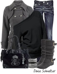 The boots and coat ♥