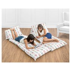 Coral & Mint Arrow Pillow Buddy - Sweet Jojo Designs