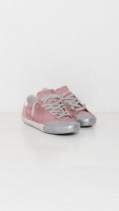 Golden Goose Sneakers Superstar in Pink Skate Silver Scotch   The Dreslyn