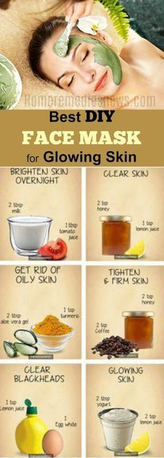 Clear Skin Face, Face Skin, Skin Firming, Skin Brightening, Homemade Acne Mask, Diy Mask For Acne, Facemask Homemade, Homemade Facials, Best Diy Face Mask