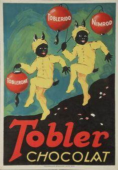 Tobler Chocolat -Vintage poster