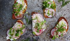 by ashley rodriguez it s lunch time melted leeks and ricotta tartine ...