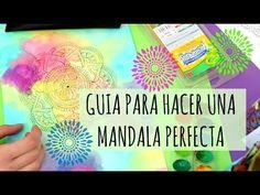 Aprende a hacer Mandalas Perfectas! Dani Hoyos Art - YouTube