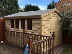 Wooden Pressure Treated Sheds - Aston Shed Shop Roof Joist, Roof Boards, Timber Buildings, Wooden Sheds, West Midlands, Cladding, Outdoor Structures, Shop
