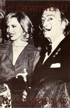 SALVADOR DALI.....1985....BOOK....WITH AMANDA LEAR ....BING IMAGES....