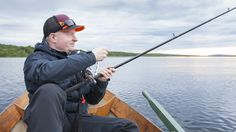 Fishing in Rovaniemi's waters can be done round the clock in summer thanks to 24-hour sunlight -Rovaniemi, Lapland, Finland