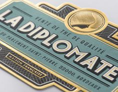 "Check out this @Behance project: ""La Diplomate"" https://www.behance.net/gallery/10326055/La-Diplomate"