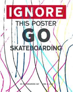 Go Skateboarding Day 2012 Poster