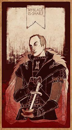 his blade is sharp by vanessa ninona George Rr Martin Books, Michael Mcelhatton, Martin Sharp, Game Of Thrones Fans, Sansa, Winter Is Coming, Blade, Mystery, Darth Vader