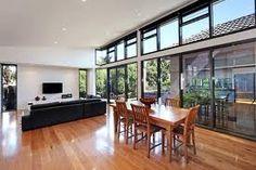 raked ceiling - high windows