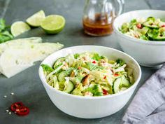 Food N, Pasta Salad, Sprouts, Potato Salad, Chili, Cabbage, Goodies, Healthy Recipes, Healthy Food