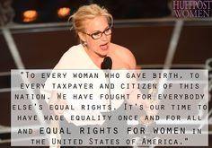 Tudtátok, hogy a nők és férfiak megkülönböztetése még a hollywoodi sztároknál is észrevehető?  #feminizmus #harc #egyenjogúság #nők #oscar #2015