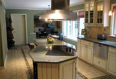 Image result for kitchen island with stove top