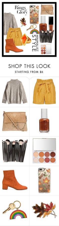 """Rings of Glory"" by xxqueen476xx ❤ liked on Polyvore featuring Essie, L'Autre Chose, Casetify, Tiffany & Co., Anne Klein and Kenneth Jay Lane"