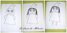 Tuto sorcière Collage 4