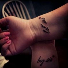 Tatoos my lil sis and I are getting :)