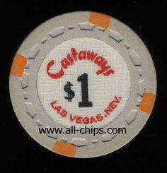Las Vegas Casino Chip of the Day is a $1 Castaways 2nd issue you can see here http://www.all-chips.com/ChipDetail.php?ChipID=16960